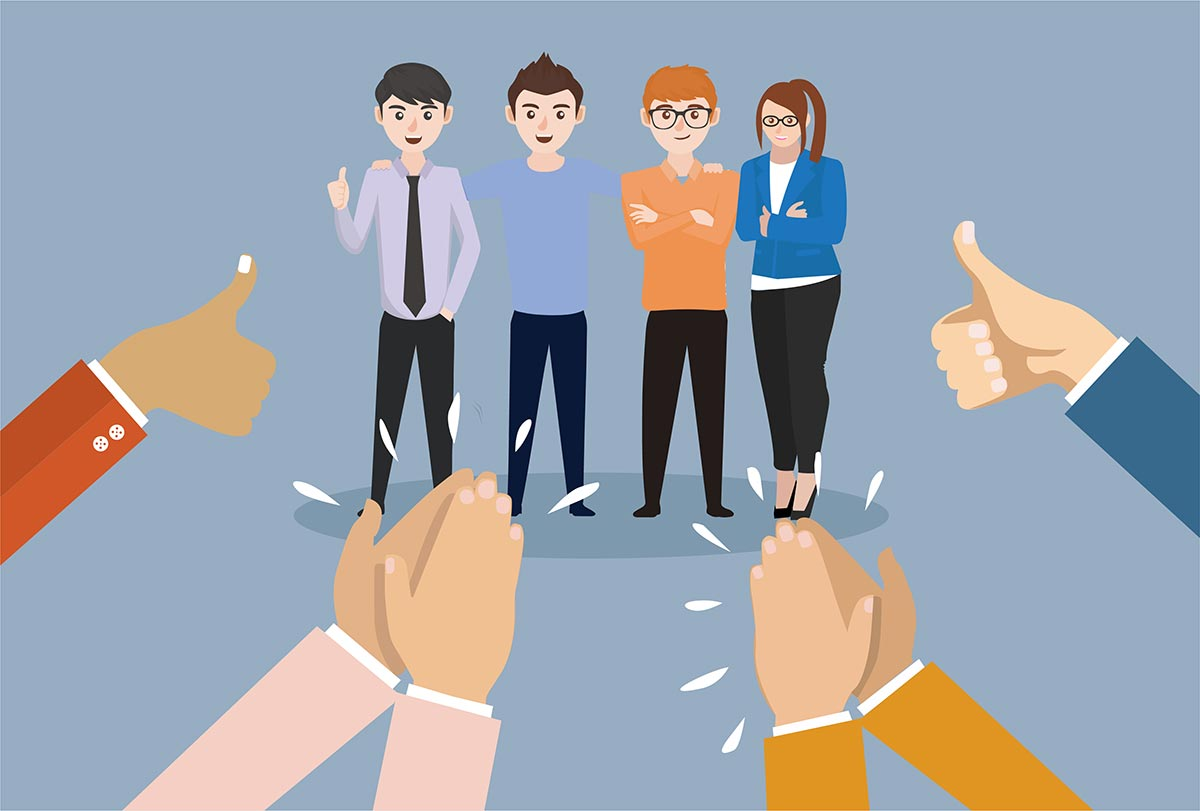 A good scrum master acknowledges the team's effort and celebrates their successes | Systems Valley