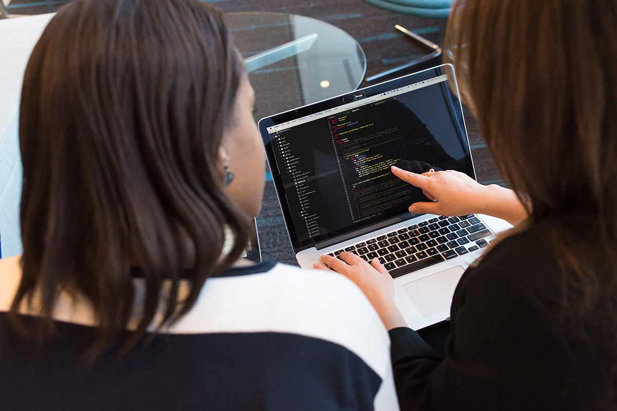 Pair programming - Two programmers sharing one workstation